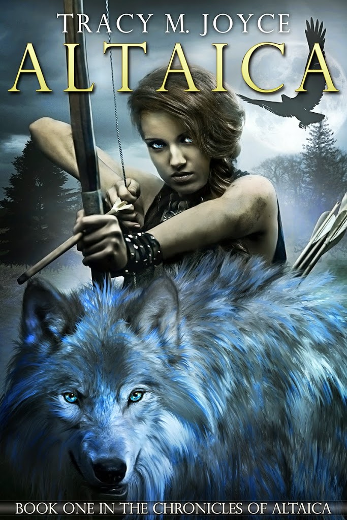 The cover of Altaica by Tracy M Joyce.
